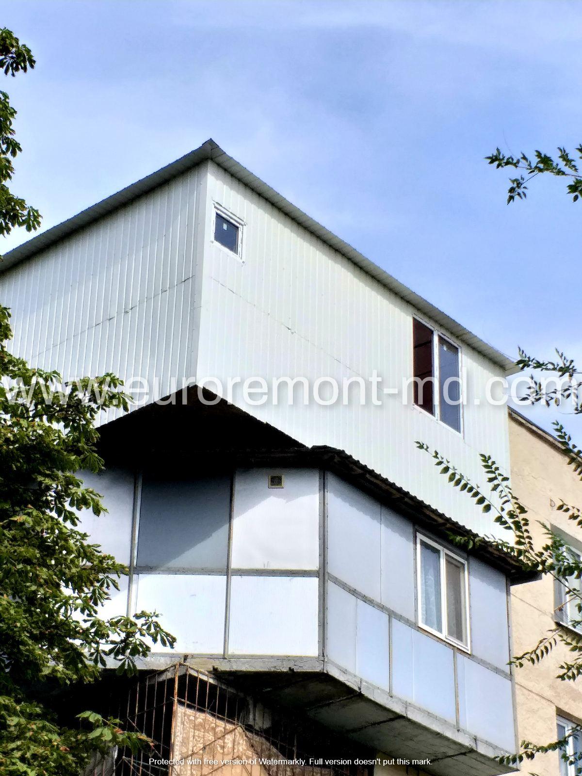 Ремонт балкона в Кишиневе