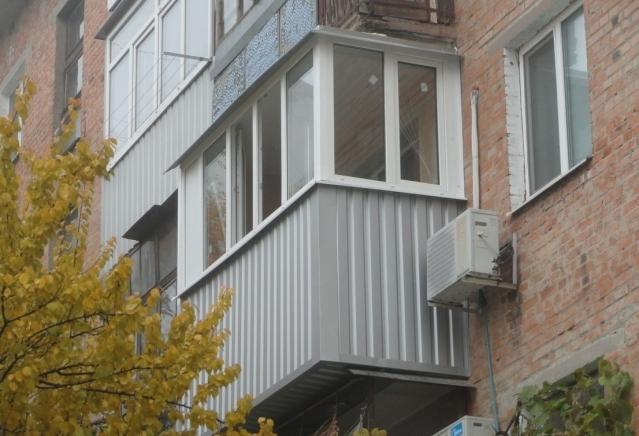 Вынос балкона в Кишинёве