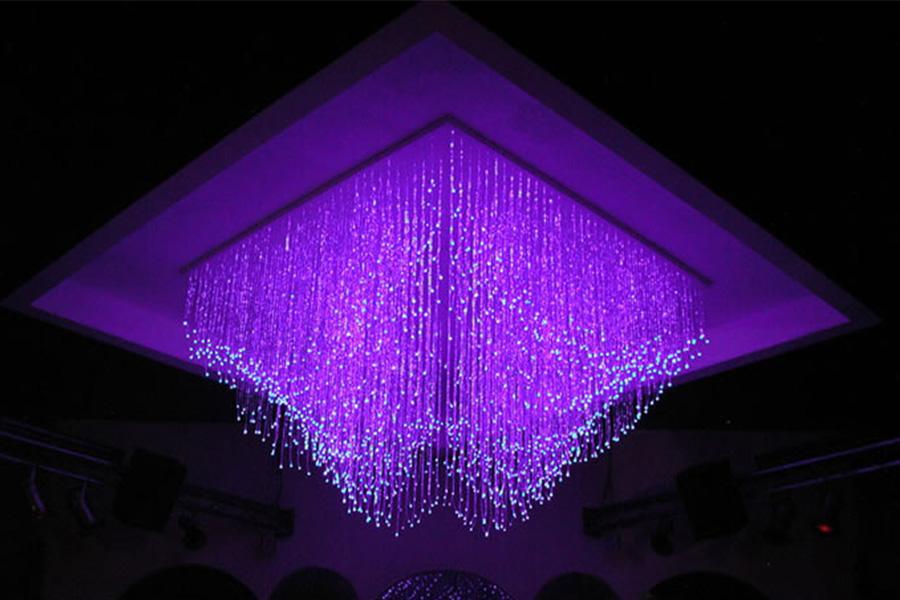 Натяжные потолки - звёздное небо светильники