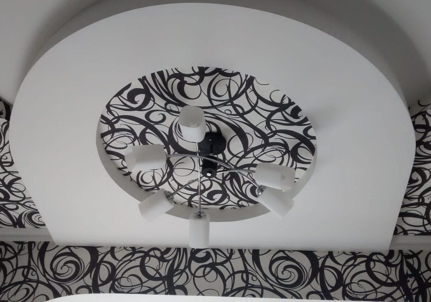 Конструкция из гипсокартона